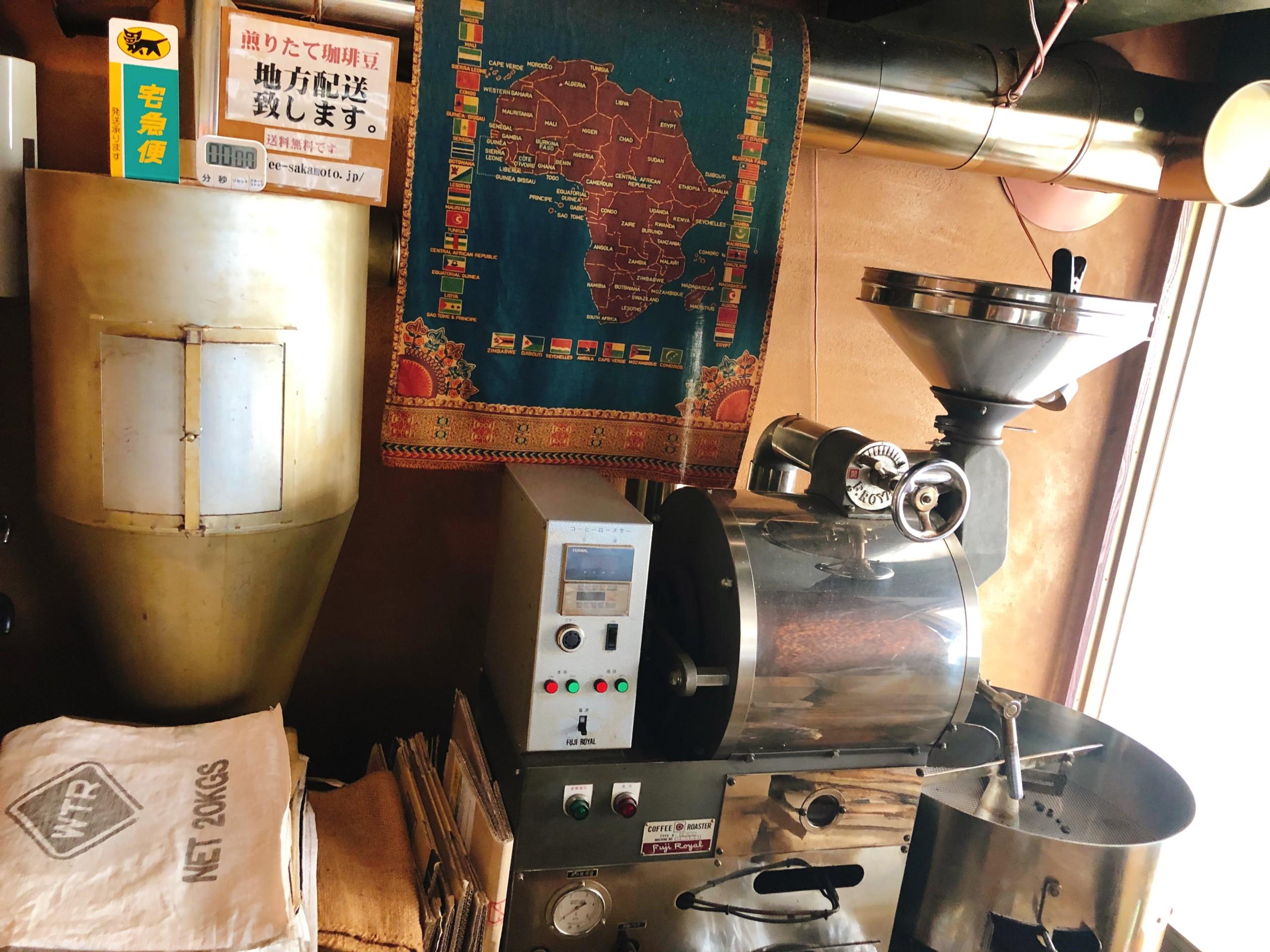 焙煎マシン
