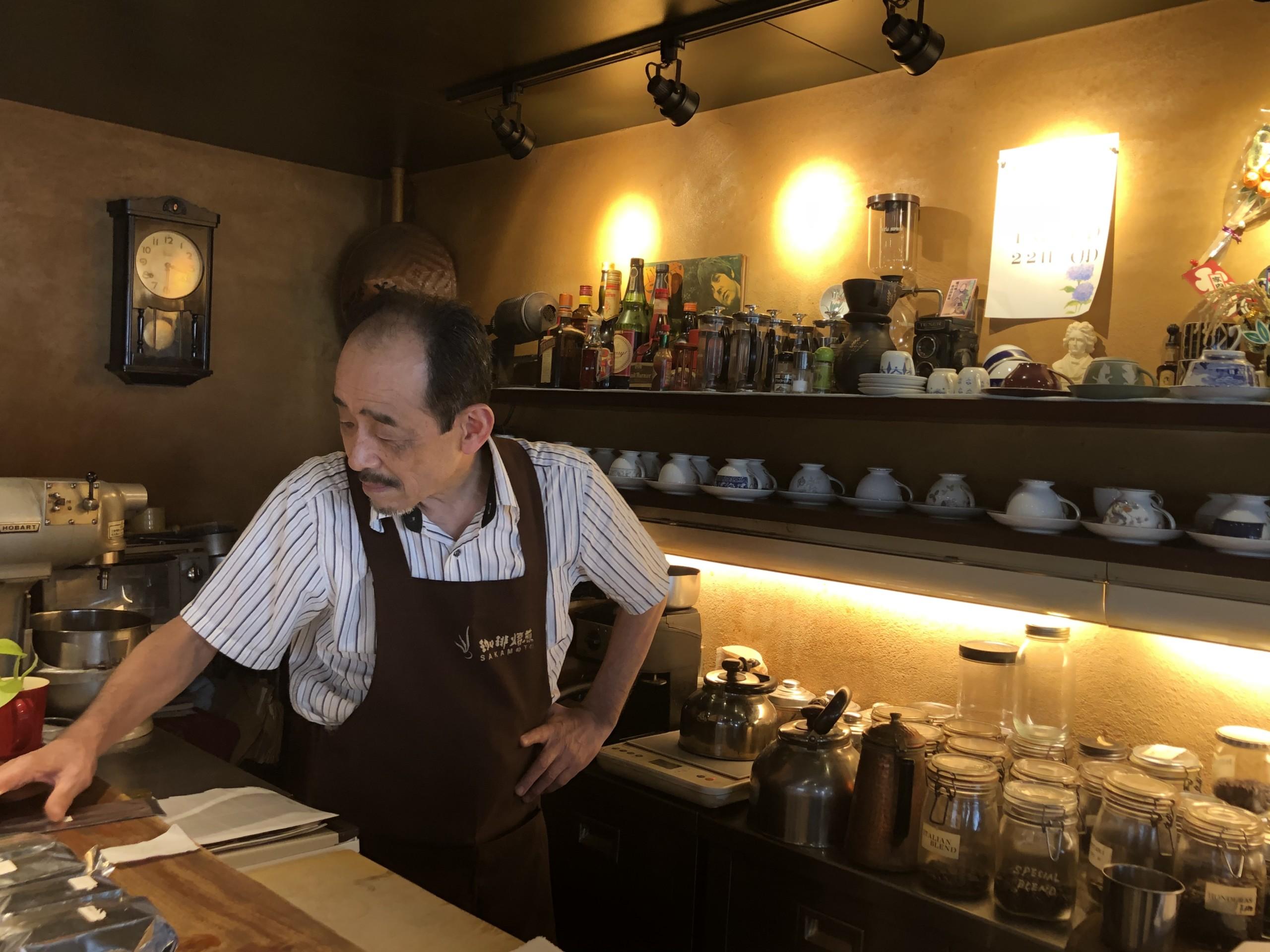 【つつじヶ丘】東京でコピルアクが飲める珈琲焙煎SAKAMOTO