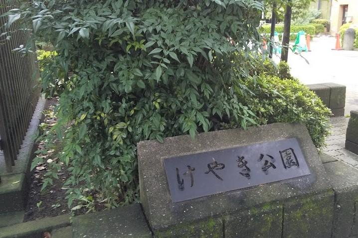 国分寺けやき公園入口