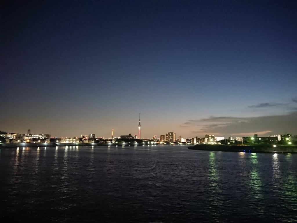 中川デッキ夜景