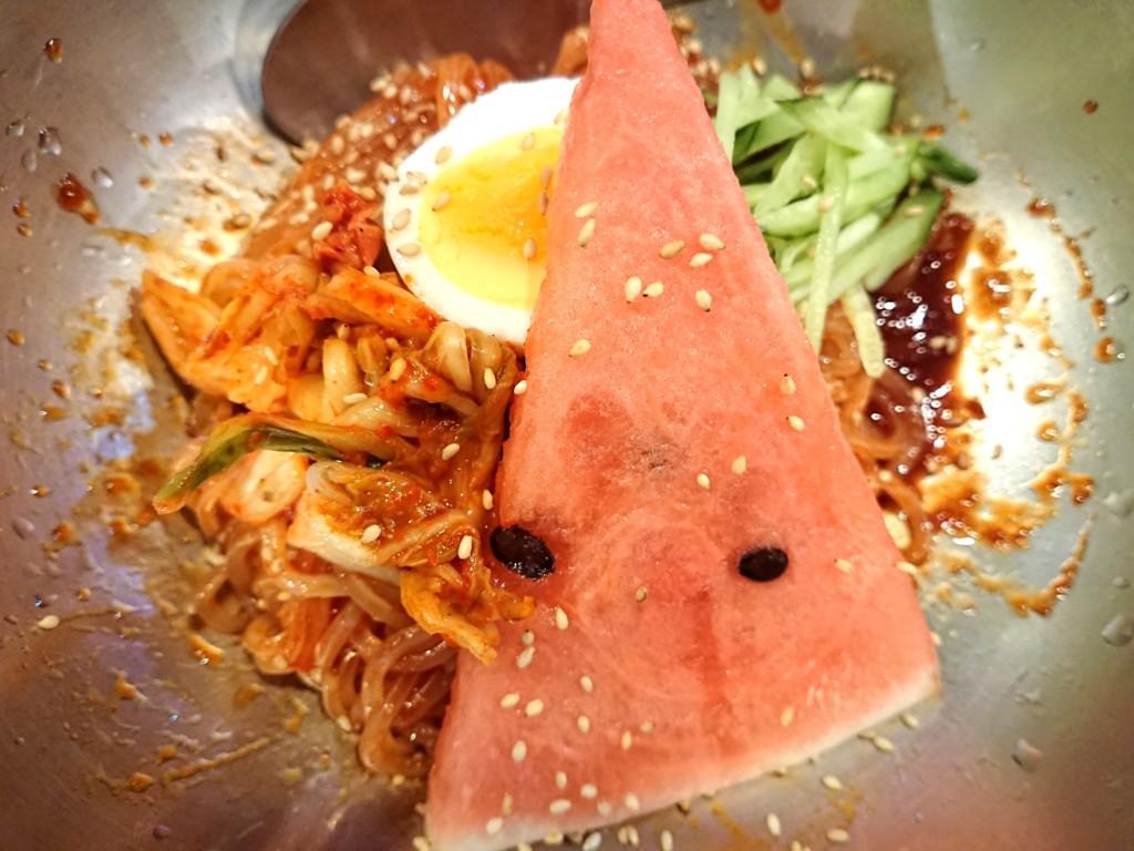 炎のビビン麺