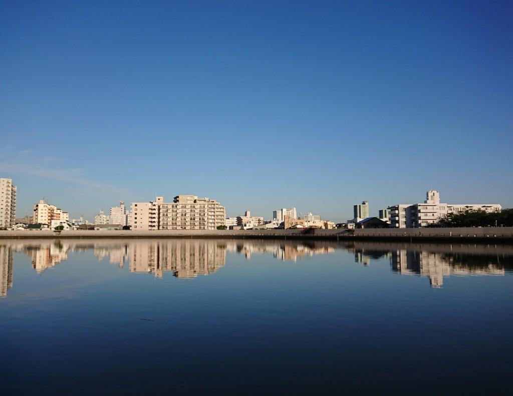 中川からみる景色
