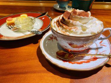 【大森】かふぇおかがれーじで金色のマシンから極上コーヒー