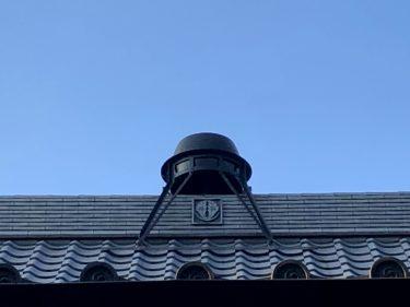 【方南町】屋根に釜が乗るお寺。釜寺東運寺