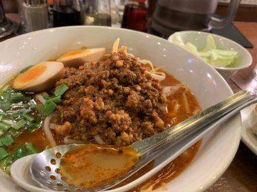【武蔵小金井】麺 鶴亀屋で辛みの聞いた台湾ラーメンを食べる