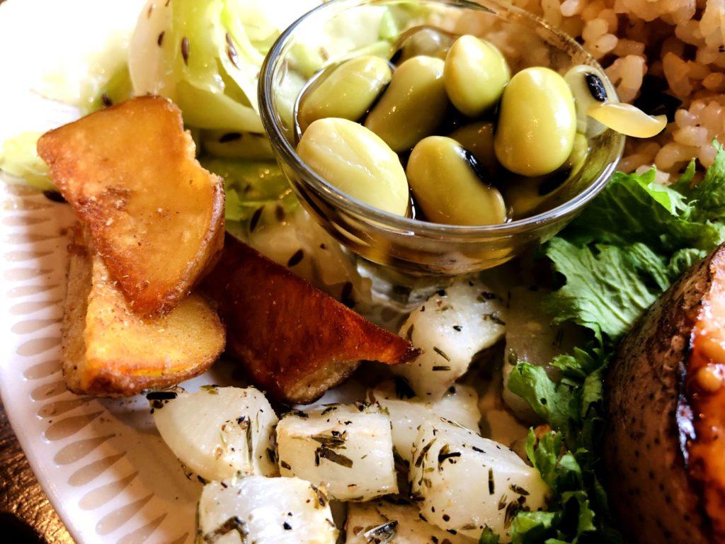 豆とポテト