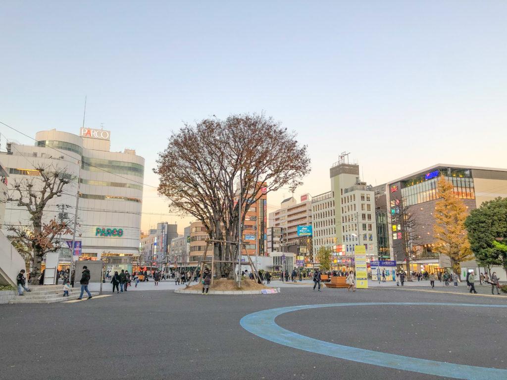 調布駅前広場
