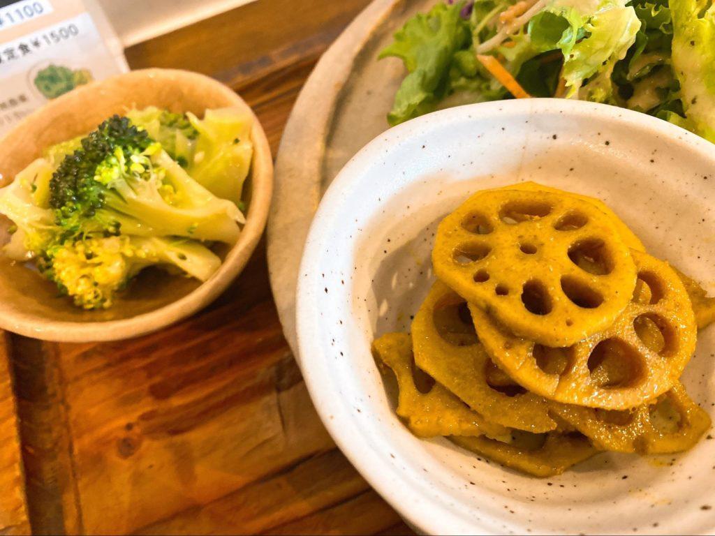 レンコンのお惣菜