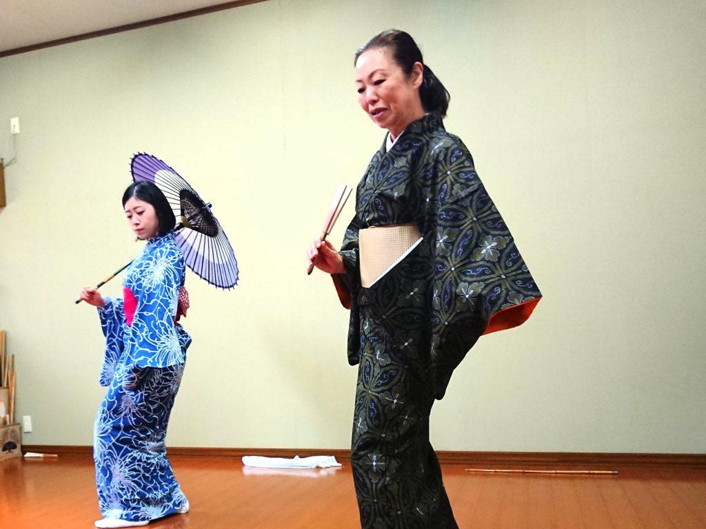日本舞踊レッスン