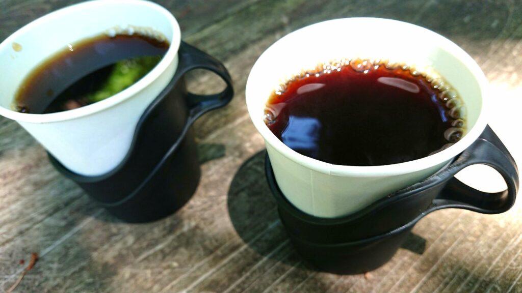 長尾茶屋のコーヒー
